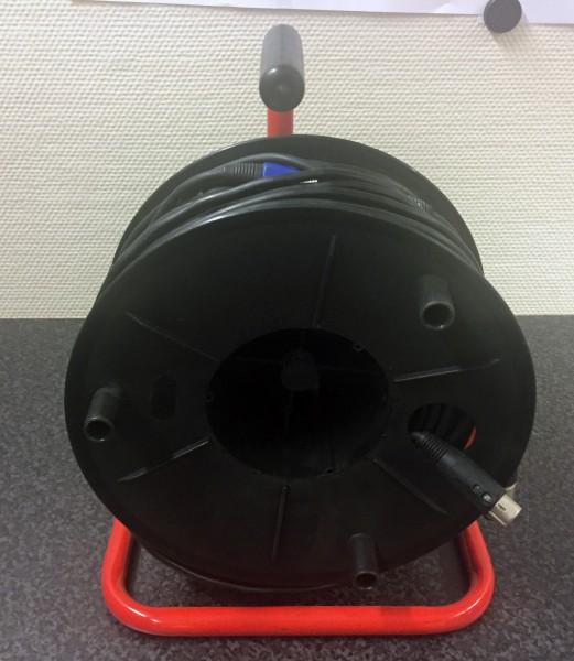 XLR-Kabel auf Trommel (gebraucht)