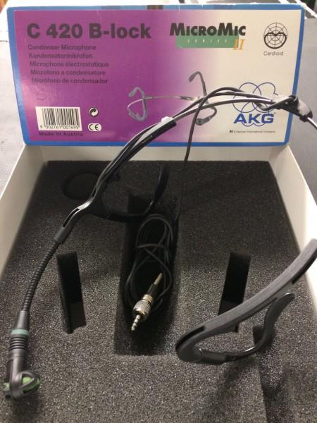 AKG C420 B, Klinken-Stecker, beige (gebraucht)