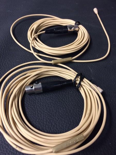 Sennheiser MKE2, TQG-Stecker, beige (gebraucht)