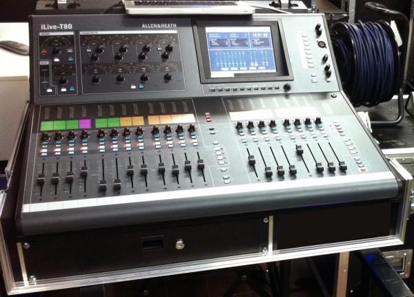 iLive T80 mit iDR16 & xDR16 Stagerack (gebraucht)